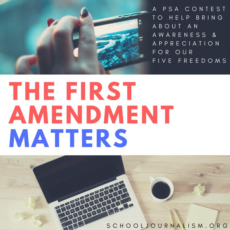 The First Amendment Matters PSA Contest